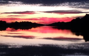 Sunset in the Alligator River/Pungo River Canal